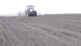 Tractor with planter stock video footage