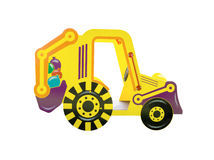 Tractor for playground Stock Photography