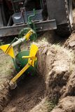 Tractor ploughing Stock Images
