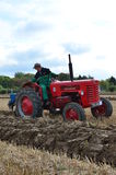 Tractor ploughing match. Royalty Free Stock Images