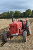 Tractor ploughing match. Stock Photos