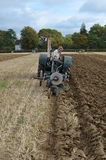 Tractor ploughing match. Stock Images