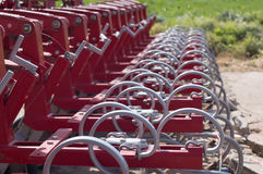Tractor plowing attachment Royalty Free Stock Image