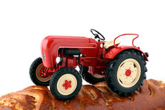 Tractor - the plowman Stock Images