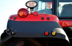 Tractor rear Royalty Free Stock Photo