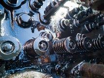 Tractor repair stock images