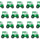 Tractor seamless Stock Photography