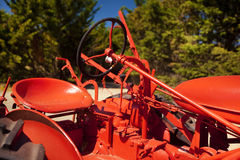 Tractor Seat Royalty Free Stock Photo