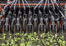Free Tractor Sowing Seeds Royalty Free Stock Photography - 34282377