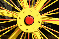 Tractor Spokes Royalty Free Stock Images