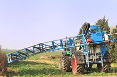 Tractor spraying. Stock Photography