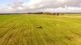 The autumn harvest stock video footage