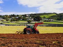 Tractor. Stock Photo Keywords  agricuture, field, plough field, plough soil, ploughed, ploughed field, ploughed fields, ploughed soil, ploughing, ploughing Stock Photos