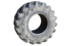 Tractor tire Royalty Free Stock Image