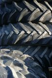 Tractor Tires. Second hand tractor tires in a scrap yard Royalty Free Stock Photography
