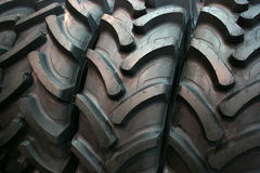 Tractor tires. Brand new tractor tires placed on factory floor ready to be transported to tiers shop Royalty Free Stock Image