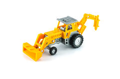 Tractor toy Stock Image