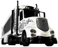 Tractor Trailer Cab 18 Wheeler Stock Photo