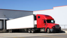 Tractor Trailer Truck Royalty Free Stock Images