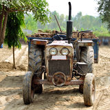 Tractor and trolly Stock Photos