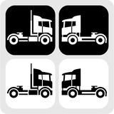 Tractor-truck-cabin-icon Royalty Free Stock Photography