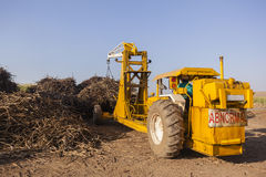 Tractor Truck Crop Loading royalty free stock photo