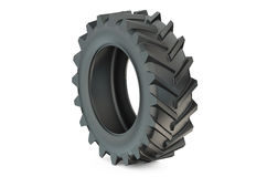 Tractor tyre Stock Image
