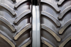 Tractor Tyre (Tire) Close-Up Stock Photos