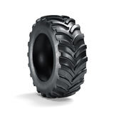 Tractor tyre  Royalty Free Stock Image