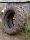 Tractor tyres Stock Photo