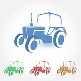Tractor vector icon Royalty Free Stock Photography