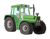 Tractor Vector Illustration Royalty Free Stock Images