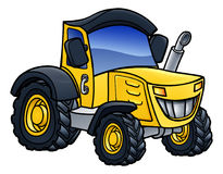 Tractor Vehicle Cartoon Royalty Free Stock Photo