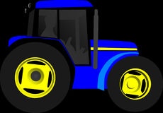 Tractor, Vehicle, Machine, Engine Stock Image