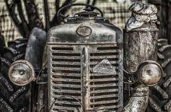 Tractor viejo Fotografía de archivo libre de regalías