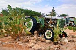 Tractor viejo abandonado de Fordson, Namibia Fotografía de archivo