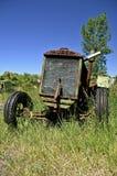Tractor viejo de Huber Fotografía de archivo libre de regalías