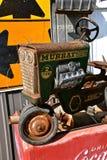 Tractor viejo del pedal de Murray Foto de archivo libre de regalías