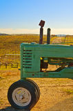 Tractor at the Vineyard Royalty Free Stock Images