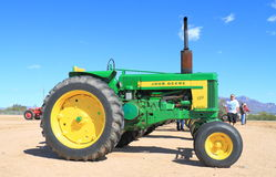 Classic American Tractor - John Deere 720 (1957) Stock Photo
