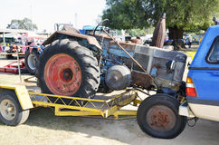 Tractor. Royalty Free Stock Image