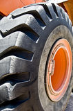 Tractor wheel Stock Photo