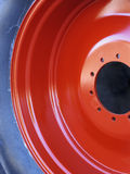 Tractor Wheel Detail Royalty Free Stock Images