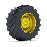 Tractor wheel Stock Images