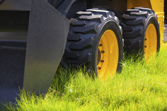 Tractor wheels Royalty Free Stock Photos