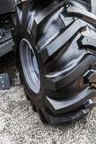 Tractor wheels with high tread Royalty Free Stock Photo