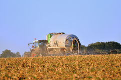Tractor wirh sprayer. Stock Images