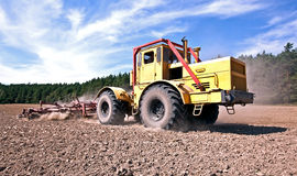 Tractor at work Royalty Free Stock Image