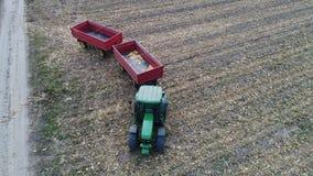 Tractor y remolques Fotografía de archivo libre de regalías