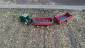 Tractor y remolques Foto de archivo libre de regalías